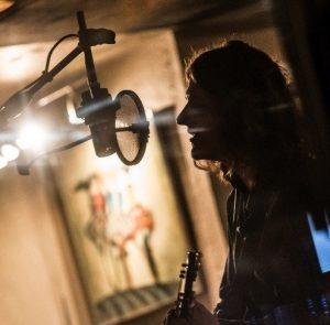 Sam in Studio