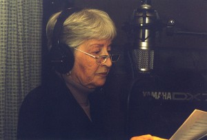 Billie Mae Richards on mic