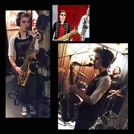 Kristen Prince: sax